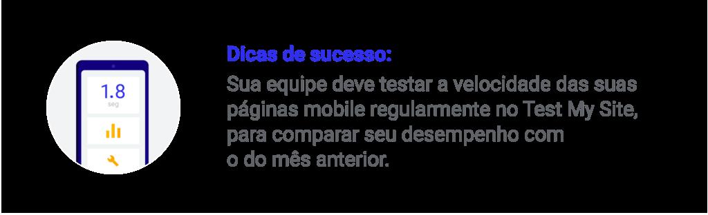 Dicas de carregamento de site para estratégia mobile